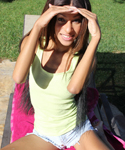 Tiny Trisha Enjoys Showing Off Her Sexy Body In Outdoors - Picture 2