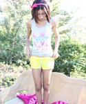 Naughty Trisha Enjoys Fingering Her Pussy In Outdoors - Picture 3